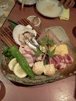 懇親会料理2